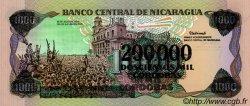 1000 Cordobas NICARAGUA  1990 P.162 NEUF