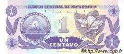1 Centavo De Cordoba NICARAGUA  1991 P.167 NEUF