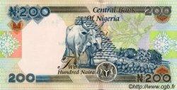 200 Naira NIGERIA  2001 P.29 NEUF