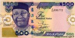 500 Naira NIGERIA  2002 P.30a NEUF
