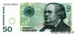 50 Kroner NORVÈGE  2000 P.46b NEUF