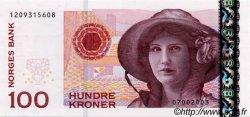 100 Kroner NORVÈGE  1995 P.49a NEUF