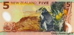 5 Dollars NOUVELLE-ZÉLANDE  1999 P.185 NEUF