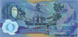 10 Dollars NOUVELLE-ZÉLANDE  2000 P.190b NEUF