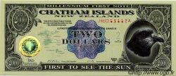 2 Dollars NOUVELLE-ZÉLANDE  1999 P.- NEUF