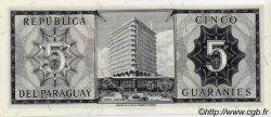 5 Guaranies PARAGUAY  1963 P.195b NEUF