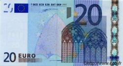 20 Euro EUROPE  2002 €.120.05 NEUF