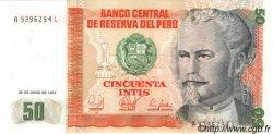 50 Intis PÉROU  1987 P.131b NEUF