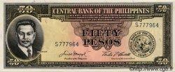 50 Pesos PHILIPPINES  1949 P.138d pr.NEUF