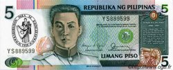 5 Piso PHILIPPINES  1990 P.178a NEUF