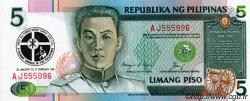 5 Piso PHILIPPINES  1991 P.179 NEUF
