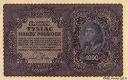 1000 Marek POLOGNE  1919 P.029 SPL