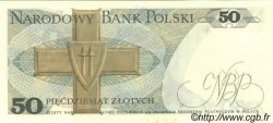 50 Zlotych POLOGNE  1982 P.142b NEUF