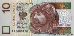 10 Zlotych POLOGNE  1994 P.173a NEUF
