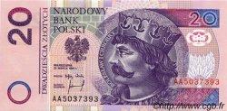 20 Zlotych POLOGNE  1994 P.174a NEUF
