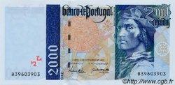 2000 Escudos PORTUGAL  1997 P.189c pr.NEUF