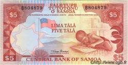 5 Tala SAMOA  1985 P.26 NEUF