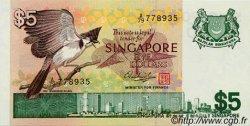 5 Dollars SINGAPOUR  1976 P.10 NEUF