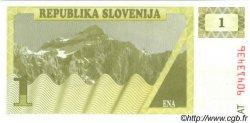 1 Tolar SLOVÉNIE  1990 P.01a NEUF