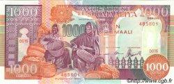 1000 Shilin SOMALIE RÉPUBLIQUE DÉMOCRATIQUE  1990 P.37a NEUF