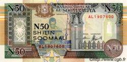 50 N Shilin = 50 N Shillings SOMALIE RÉPUBLIQUE DÉMOCRATIQUE  1991 P.R2 NEUF