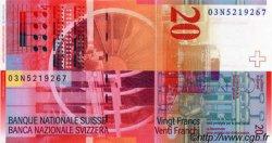 20 Franken SUISSE  2003 P.69b NEUF