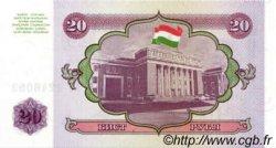 20 Rubles TADJIKISTAN  1994 P.04a NEUF