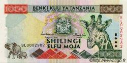 1000 Shilingi TANZANIE  1997 P.31 NEUF