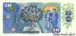 20 Korun TCHÉCOSLOVAQUIE  1988 P.095 pr.NEUF