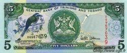 5  Dollars TRINIDAD et TOBAGO  1985 P.37d NEUF
