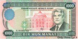 1000 Manat TURKMÉNISTAN  1995 P.08 NEUF