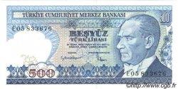 500 Lira TURQUIE  1983 P.195 NEUF