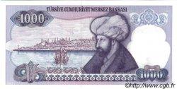 1000 Lira TURQUIE  1986 P.196 NEUF