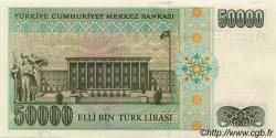 50000 Lira TURQUIE  1995 P.204 pr.NEUF