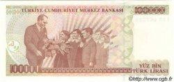 100000 Lira TURQUIE  1997 P.206 NEUF