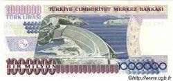 1000000 Lira TURQUIE  1995 P.209 NEUF