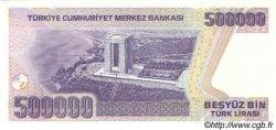 500000 Lira TURQUIE  1998 P.212 NEUF