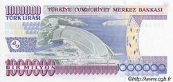 1000000 Lira TURQUIE  2002 P.213 NEUF