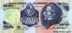 50 Nuevos Pesos URUGUAY  1988 P.061A NEUF