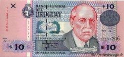 10 Pesos Uruguayos URUGUAY  1998 P.081 NEUF
