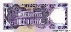 1000 Nuevos Pesos URUGUAY  1992 P.064Ab NEUF