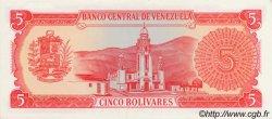 5 Bolivares VENEZUELA  1989 P.070a NEUF