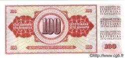 100 Dinara YOUGOSLAVIE  1981 P.090b NEUF