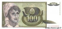 100 Dinara YOUGOSLAVIE  1991 P.108 NEUF