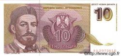 10 Novih Dinara YOUGOSLAVIE  1994 P.149 NEUF