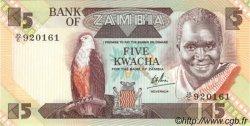5 Kwacha ZAMBIE  1980 P.25c NEUF