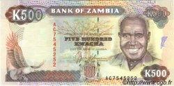 500 Kwacha ZAMBIE  1991 P.35a NEUF