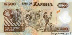 500 Kwacha ZAMBIE  2003 P.43b NEUF