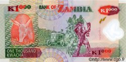 1000 Kwacha ZAMBIE  2003 P.44b NEUF