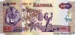 5000 Kwacha ZAMBIE  2003 P.46a NEUF
